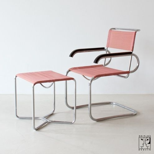 Marcel Breuer Chair And U0026 Stool