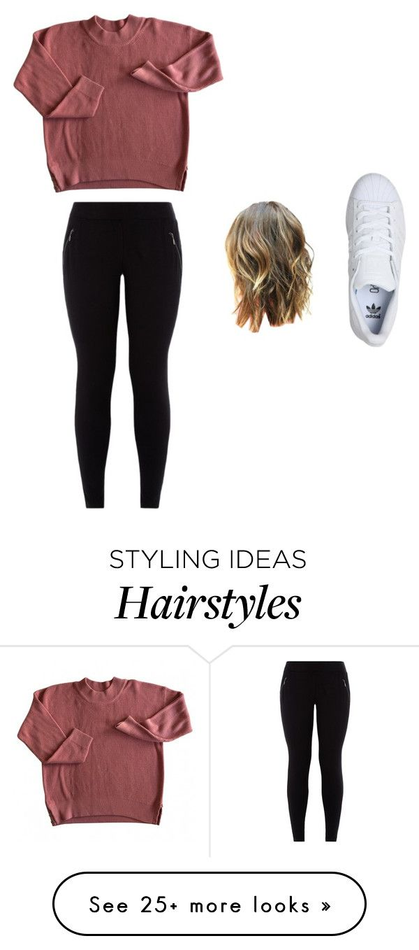 """ehh."" by meli-yadira on Polyvore featuring adidas"