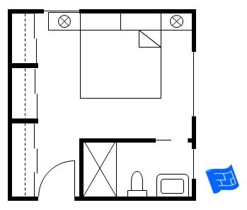 how to draw a print of electric 2 bedroom