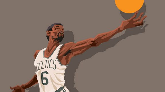 "Before the Boston Celtics had the ""Big Three"" and ""Big Three 2.0."" They had the icon Bill Russell in , who carried the C's on his back to 11 NBA titles."