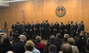 15 Police Officers, 4 Firefighters Join the Ranks in Edison @EdisonNJ @EdisonPolice @IAFF1197