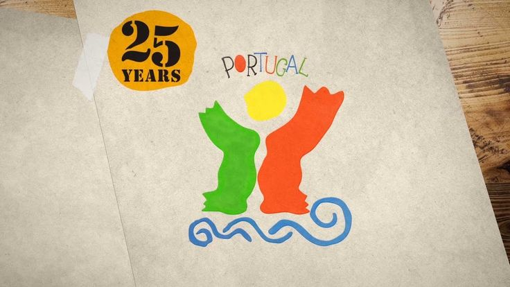 Story of a brand for Portugal as a tourism destination | The creative pathway of Portuguese artist José de Guimarães in the development of the symbol of Portugal as a tourism destination, created 25 years ago.