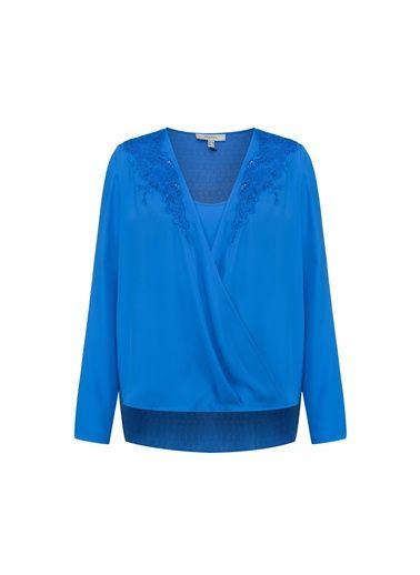 Ipekyol Bluz IS1160006134 Bluz Kobalt | Morhipo.com