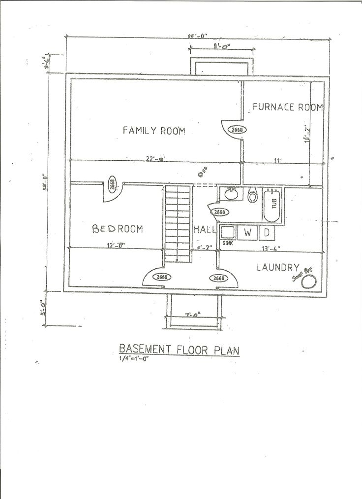 Basement Floor Plans For Homes House Idea