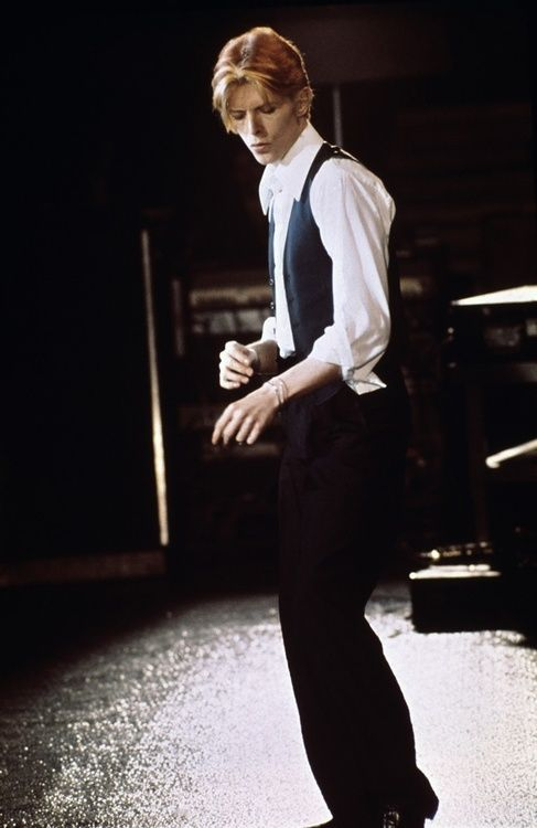 David Bowie by Michael Putland, Wembley, May 1976