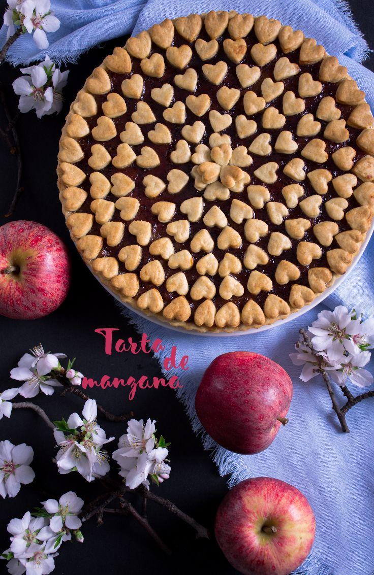 Rica tarta de manzana para sorprender a tus invitados.