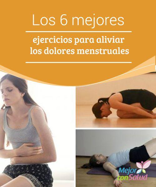 Los 6 mejores ejercicios para aliviar los dolores menstruales   Los ejercicios tienen beneficios para controlar los incómodos dolores menstruales. Te compartimos 6 interesantes posturas para hacerlo en casa.