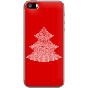 Christmas Tree By Fimbis for                           Apple  iPhone 5/5s  #fimbis #thekase #christmastree #tree #red #style #styleblog #fashion #fashionblogger #fashionblog #styleblogger #iphone6 #designer #iphone5s #typography #rouge #mode #blogdemode #coques #fblogger #coquesiphone #Noel #Noël #festive #defete #defête #idéesdenoël #francais #christmasgiftideas