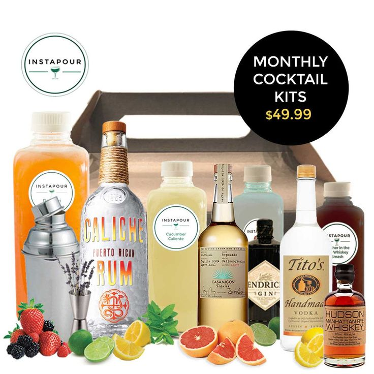 Monthly Cocktail Subscription Box