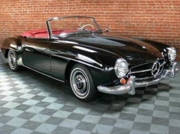 Classic 1962 Mercedes-Benz 190 SL Roadster! Hit the link to follow @eBay's 'Dream Cars' board for more breathtaking cars…  http://www.pinterest.com/ebay/dream-cars/ #spon
