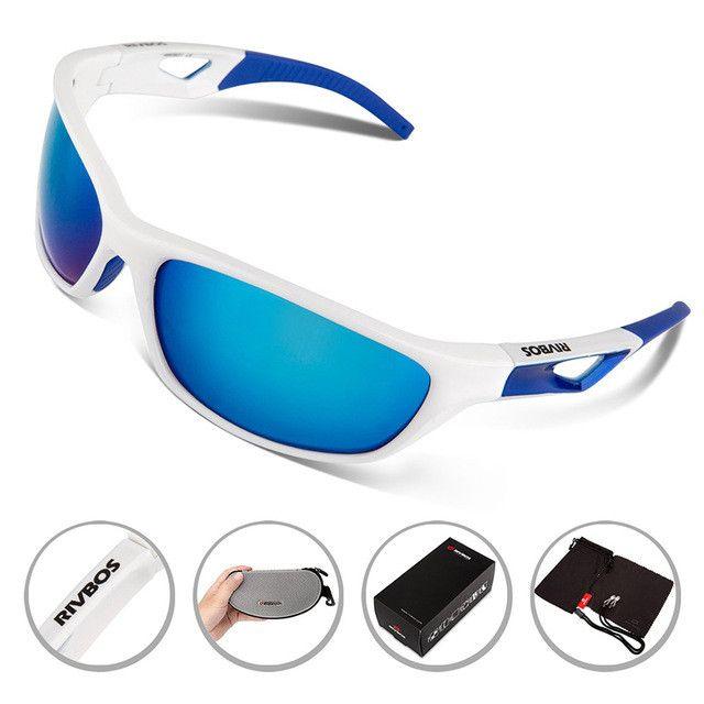 RIVBOS Polarized Sports Sunglasses Mens UV400 Running Goggles Cycling Eyewear Women Bicycle Bike Sun Glasses Tr90 Gafas Ciclismo