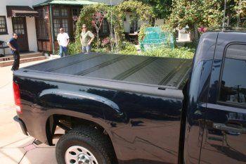 "BAK Industries - 1988-2013 Chevy Silverado 1500 Hard Folding Tonneau Cover (6' 6"" Bed) | BAKFlip G2 - 26101"