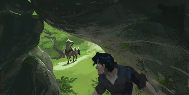Living Lines Library: Tangled (2010) - Visual Development: Color Keys