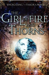 The Girl of Fire and Thorns by Rae Carson. I LOVE THIS BOOK!
