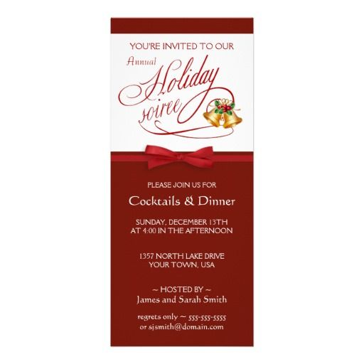 21 best elegant holiday party invitations images on pinterest elegant holiday party invitations stopboris Image collections