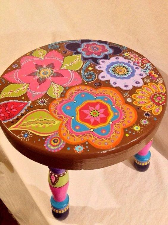 4201 best painted furniture images on pinterest painted for Hand painted furniture ideas