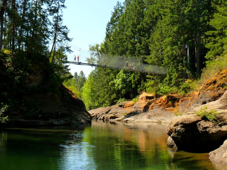 Top Bridge Trail and Swimming Hole, Parksville Rathtrevor