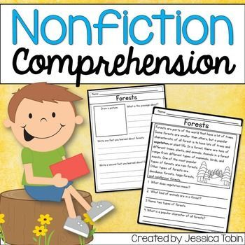 Reading Comprehension Passages (grades 1-3). This nonfiction unit gives students a chance to learn about nonfiction, read nonfiction passages, and respond to nonfiction.