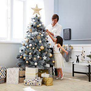 Target Glittered Grey Christmas Tree 183cm Target Australia Kerst