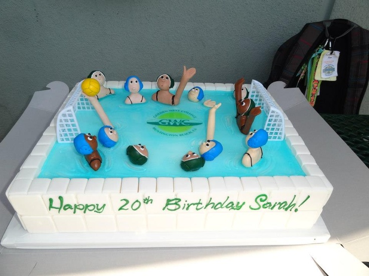Cake Decorating Team Names : 17 Best images about Water Polo Treats on Pinterest ...
