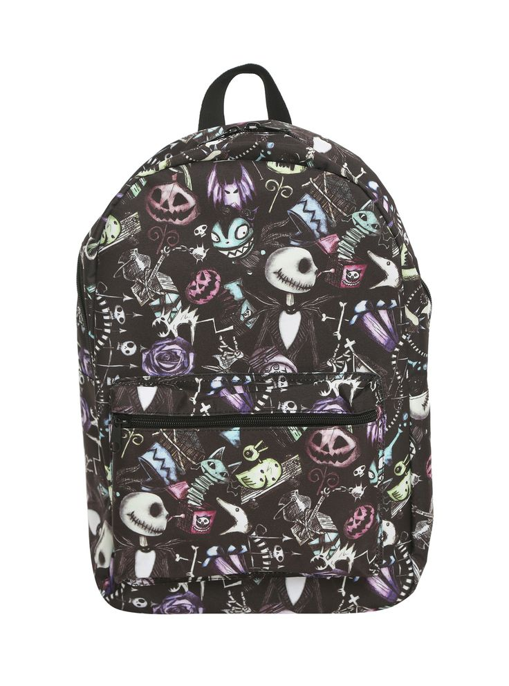 The Nightmare Before Christmas Sketch Character Backpack,