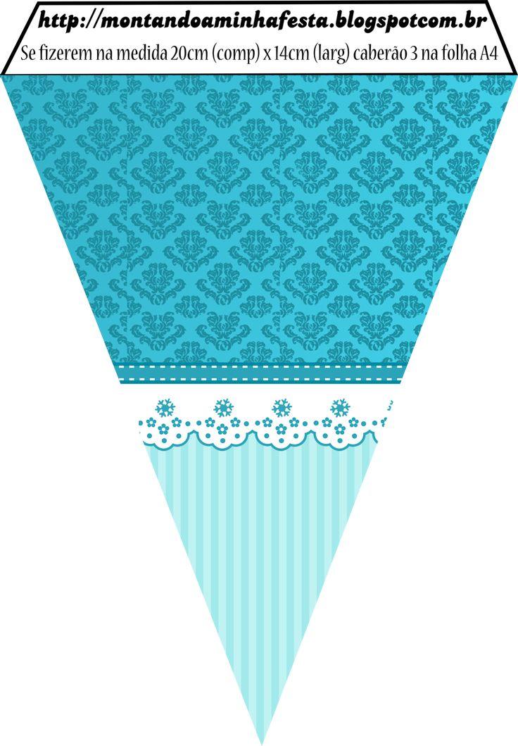 Montando a minha festa: Arabesco Azul