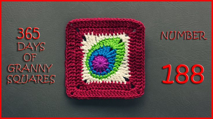 365 Days of Granny Squares  Number  188                                                                                                                                                     More