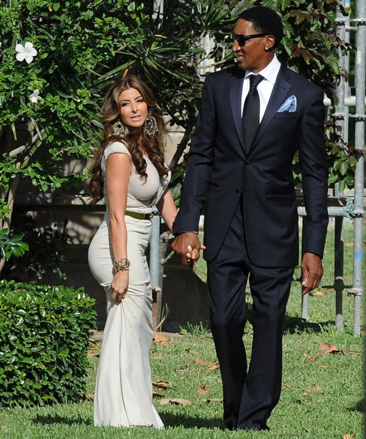 Basketball star Scottie Pippen was in attendance with his wife Larsa Pippen. <3 <3