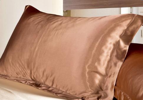 Silk Vs Satin Pillowcase Simple Design Emulation Silk Satin Pillowcase Single Pillow Cover