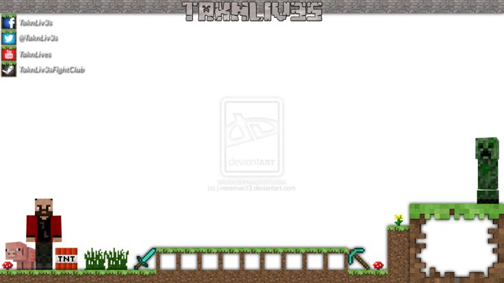 Minecraft twitch overlay template stuff to buy pinterest d overlays and templates for Twitch overlay ideas