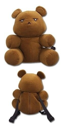 Ouran High School Host Club Tamaki's Bear Plush Bag | eBay  Shut up! Want!!! Thanks, @Grechen Grant