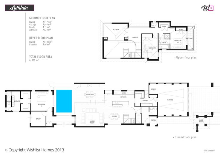 Comnarrow Block Home Designs : ... Narrow Block Plans on Pinterest  House plans, Home and Home design