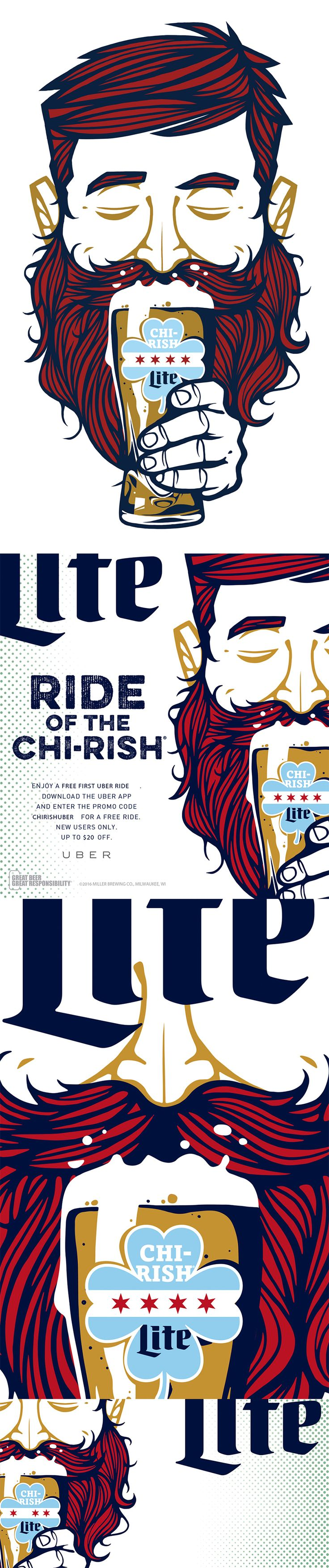 Chirish Beer Miller Lite on Behance
