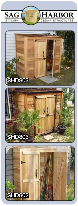 Outdoor Wooden Storage Shed Summer House Dreaming