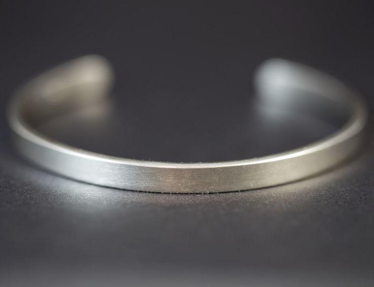 Silver Bangle, Men's Silver Bracelet, Cuff Bracelet, Silver Bracelet Women, Sterling Silver Bangle, Cuff Bracelet Silver, Silver Bracelet by RebeccaCordingley on Etsy https://www.etsy.com/listing/247898282/silver-bangle-mens-silver-bracelet-cuff
