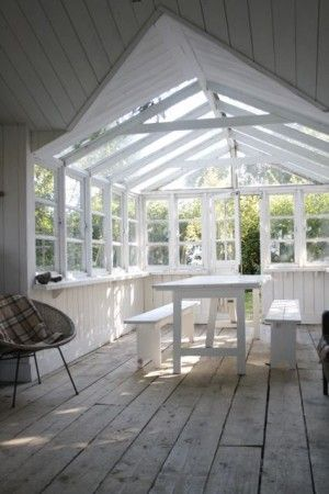 A Garden Room ideal for Dinners (just add white lights)