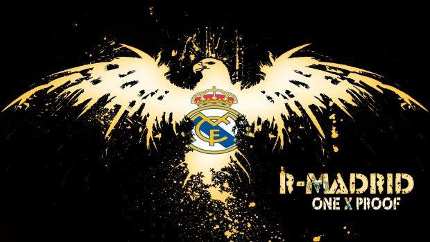Real Madrid Cf Logo Hd Wallpaper Real Madrid Logo Wallpapers Real Madrid Wallpapers Madrid Wallpaper