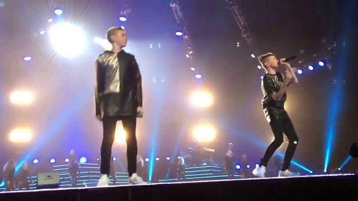 Marcus og Martinus Oslo Spektrum! 12.11.2016❤️ Filmet av Stina Hellebrekke