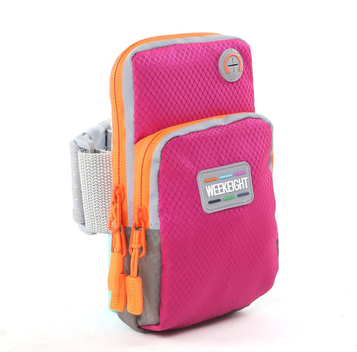 TIRSU Multifunctional Outdoor Double Pockets Arm Bag Sports Armband Waterproof and sweat-proof with Earphone Hole for Iphone 7 7plus 6 6plus , Samsung Note 5 4 3,and less than 5.5 inches cell phones. PINK Sports Armband Waterproof and sweat-proof with adjustable Velcro closure and zippers. ITEM DEMENTIONS : 7.1(H) x 4.0(W) x 0.15(D) inch. HIGH QUALITY -- Concealed double zippers, fashion, safe, sturdy, also suitable for earphones. This armbag is suitable for unisex, both men and women…