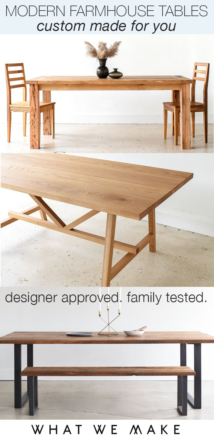 Made To Order Dining Tables Built To Fit Your Space And Style