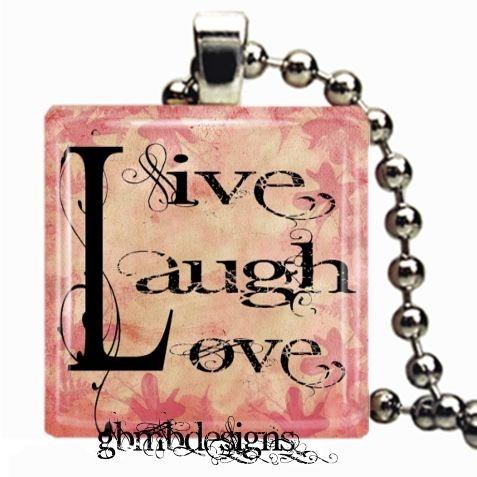 Live Laugh Love pendant necklace: Pendant Necklace, Love Necklaces, Pendants Necklaces