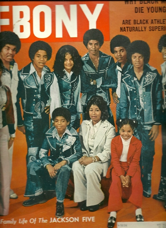 the jackson family on the cover of ebony magazine 1974