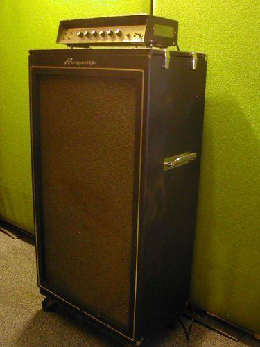 Ampeg Portaflex Bt15c 1967 Vintage Bass Amplifier Dual Cts Speaker B15 Cab
