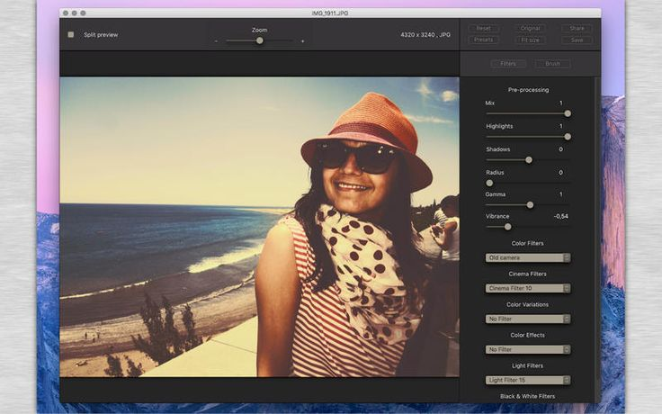 Color Filters For Photos Mac