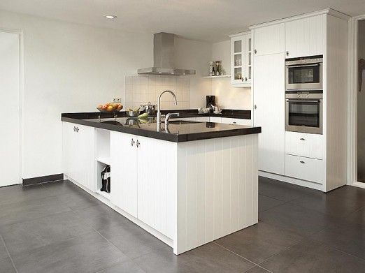 Voorbeelden Schiereiland Keuken : Modern Keuken