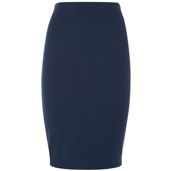 Pinterest'teki 25'den fazla en iyi Navy blue pencil skirt fikri