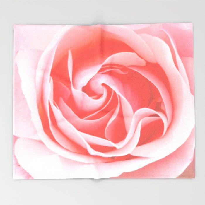 Velvet pink rose  Throw Blanket #rose #roses #gift #homedecor #society6 #utart #flowerphotography #Valentine's #Valentine's Day#showercurtain #pillow #duvet #cover