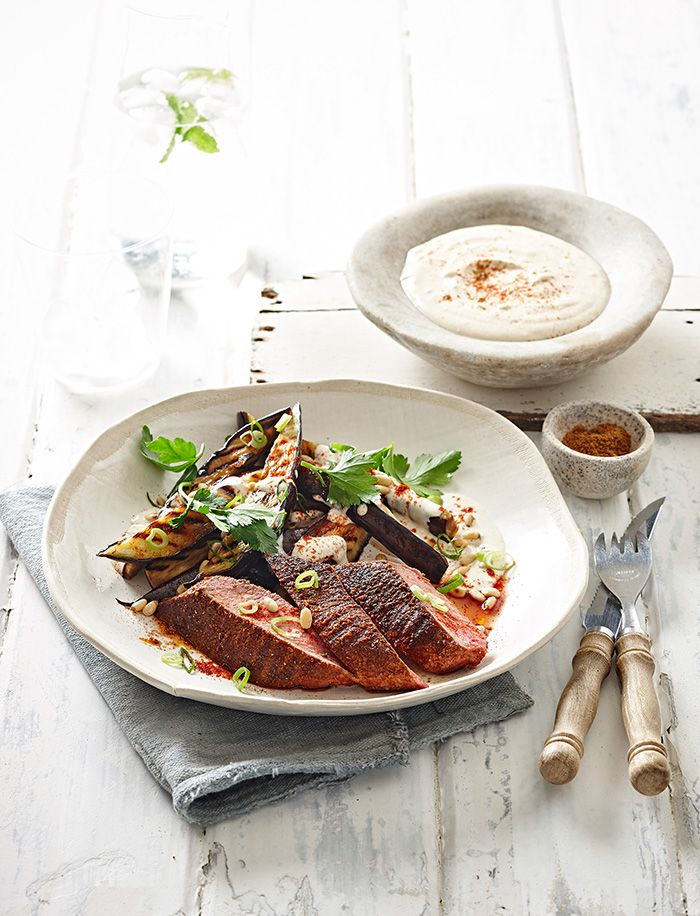 This smokey lamb dish is guaranteed to please the masses on your next summer bbq.