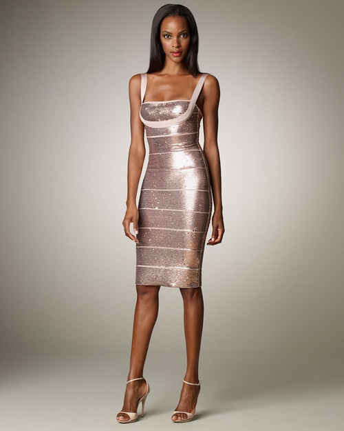 Herve Leger Knit Dress