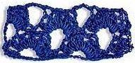 Patrón #1081: Encaje a Crochet. | CTejidas [Crochet y Dos Agujas]